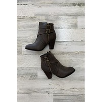 Camila Bootie- Brown