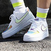 Nike Air Force 1 Easter Fashion Women Casual Laser Sport Running Shoes Sneakers
