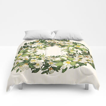 The flavour of Spring Floral Comforters by anipani