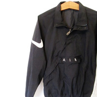 Vintage 1990s Nike Air Swoosh Pullover Windbreaker Jacket