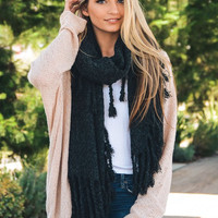 Chunky Oversized Boho tasseled blanket Scarf, pre-fall/winter sale just so loveable