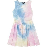 Girls Candy Couture Tie Dye Dress - Matalan