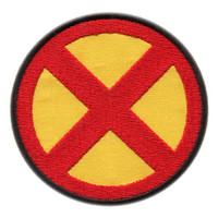 x-men emblem Iron On Patch 3.35""