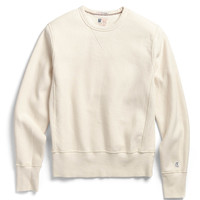 Reverse Weave Sweatshirt in Vintage White