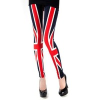 Spring Fever Fashion Funky Print Leggings Panty Tights O/S