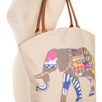 Lucky Love Tote- Elephant