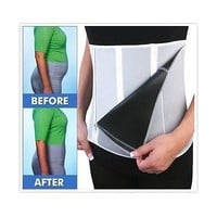 """Iconic fitness"" Adjustable belly fat slimming fitness waist shaper belt"