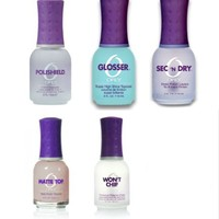 Orly Nail Treatment - Wont Chip - Polished - Glosser - Matte Top - Sec 'n Dry