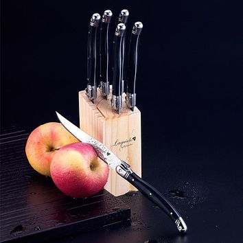 Money Saving Set - 6 Steak Knives - Stainless Steel Steak Knives- Great Gift!