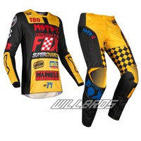 MOTO WEAR Jersey/Pants Combo Motocross Dirt bike ATV Off Road Racing Gear Set