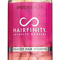 Brock Beauty Hairfinity Healthy Hair Vitamins 60 Capsules (1 Month Supply)