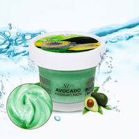 100g Avocado yogurt facial mask whitening moisturizing Anti-aging anti-wrinkle face mask acne blackhead mask face care NW