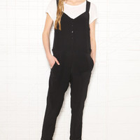 Vanessa Bruno Athe Black Jumpsuit at Urban Outfitters
