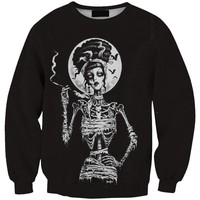 Skull Female Skeleton Witch 3D Sweatshirt Sporting Women/Men Hoodies Harajuku Style Print Hombre Sudadera Sudaderas Mujer