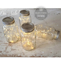 Glamping Decor Camping Lights Camping Decor Firefly lights for mason jar Glamping Party Camping Party ONE FREE! *Jar not included**
