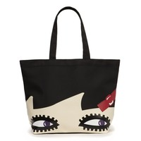 Doll Face Luisa Tote | Totes | Handbags | Lulu Guinness | Lulu Guinness