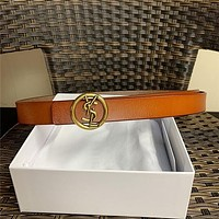 YSL Leather Belt