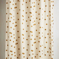 Pastel Pizzazz Good as Gold Shower Curtain by ModCloth
