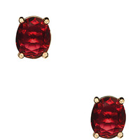Kate Spade Hancock Park Studs Pink/Red ONE