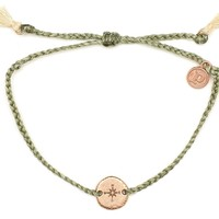 Rose Gold Compass Sage Green