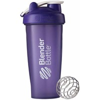 BlenderBottle 28-Ounce Classic Bottle with Loop, Full Color Purple - Walmart.com