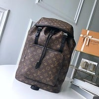 LV Louis Vuitton MEN'S MONOGRAM CANVAS ZACK BACKPACK BAG