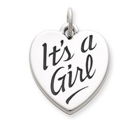 """It's a Girl"" Charm 