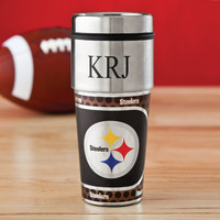 Personalized NFL Hot/Cold Tumbler 17 oz. - Steelers