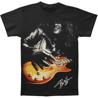 Slash Men's  Slash Guitar T-shirt Black
