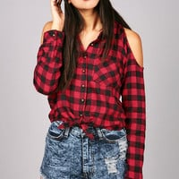 Bare Plaid Flannel | Flannels at Pink Ice
