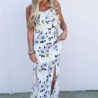 Love Is Better In Floral Maxi