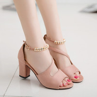 Sandals Women Summer Fashion Sandals Sexy Shallow Mouth Shoes