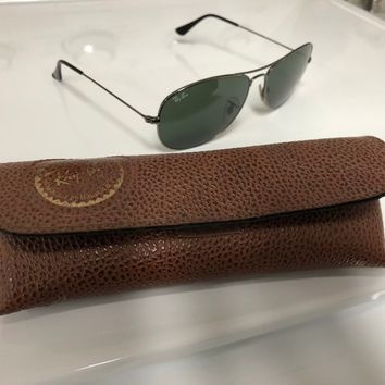 Ray-Ban - Men's sunglasses w/ vintage Ray-Ban leather case