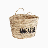 Magazine Wicker Basket