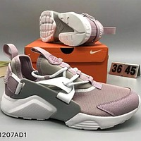 NIKE HUARACHE Light, retro, sports, shoes L-CSXY  Pink+White soles