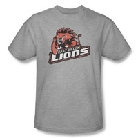 Friday Night Lights East Dillon Lions Heather Gray Adult T-shirt