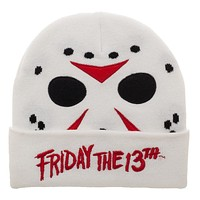 Friday the 13th Beanie Friday the 13th Apparel Friday the 13th Cosplay - Friday the 13th Hat Friday the 13th Gift