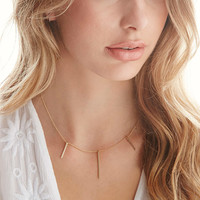 by boe Triple Linear Necklace