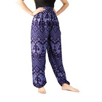 Aladdin Pants Baggy Pants Elephant Pants Hippie Clothes Maxi Pants Bangkok Pants