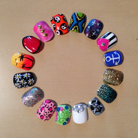 COMPLETELY CUSTOM nails size & designed for you by TopShelfNails
