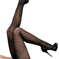 Twins Girl 2017 New New Sexy Leopard Net Pantyhose LC79515
