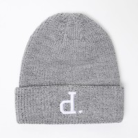 Diamond Supply Co Crown Terry Beanie - Mens Hats - E. Heather Grey - One