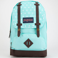 Jansport Cortlandt Backpack Aqua Dash Dots One Size For Women 24878424001