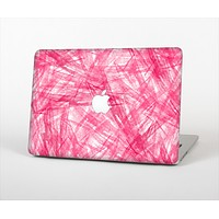 """The Subtle Pink Watercolor Strokes Skin Set for the Apple MacBook Air 11"""""""