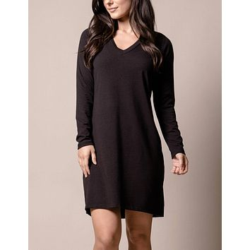 Bamboo Kendall Dress - Black