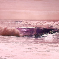 Impassioned Sea Stretched Canvas by Lisa Argyropoulos