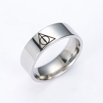 Harry Potter Rings Triangle ring