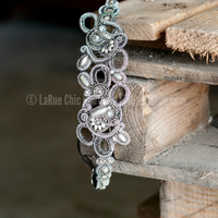 PINK PEWTER HEADBAND ALEXIS - SILVER