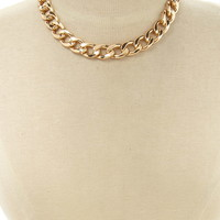 Curb Chain Necklace | Forever 21 - 1000170467