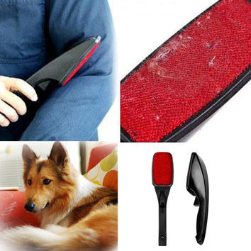 Hot Static Brush Clothes Magic Lint Dust Brush Pet Hair Remover Clothing Cloth Dry Cleaning with Rotatable Brush New